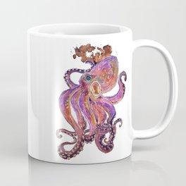 Psychedelic Purple Deep Sea Kraken Coffee Mug