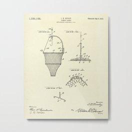 Fishing Tackle-1912 Metal Print