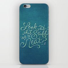 Look At This Stuff iPhone & iPod Skin