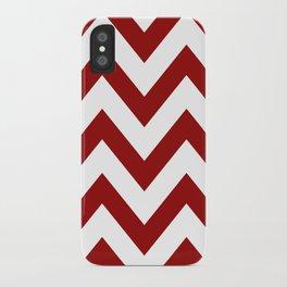 SOONER CHEVRON iPhone Case