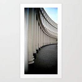 Park Crescent, London Art Print