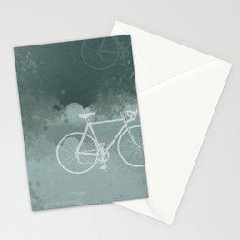 White Bikes Stationery Cards