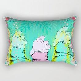 Springtime Galahs Rectangular Pillow