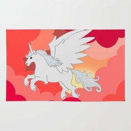 Alicorn at Sunset Rug