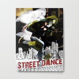 Street dance Metal Print