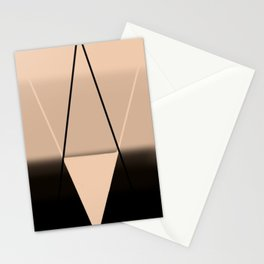 Crossed Rays  Stationery Cards