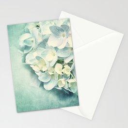 MINT HYDRANGEA Stationery Cards