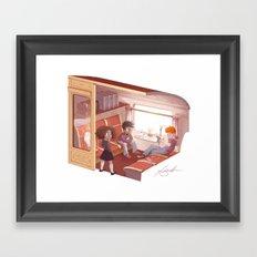 Hogwarts Express Framed Art Print