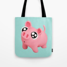 Rosa puppy eyes blue Tote Bag