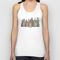montreal Tank Tops featuring montreal by bri.buckley