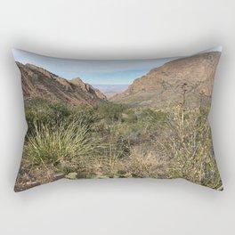 Window in Chisos Basin Rectangular Pillow