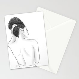 Kiss Me On My Neck Stationery Cards