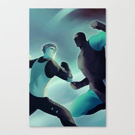 Mutant Kill Squad Anime Poster Canvas Print
