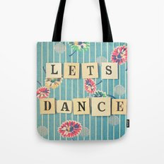 Let's Dance Tote Bag