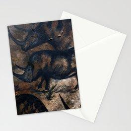 Deep Cave Rhino Stationery Cards