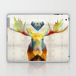 Mystic Moose Art by Sharon Cummings Laptop & iPad Skin