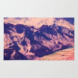 closeup desert at Grand Canyon national park, USA Rug