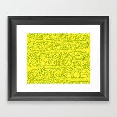 #MoleskineDaily_52 Framed Art Print