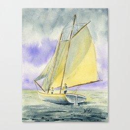 Underway at Dawn Canvas Print