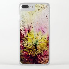 Winter is dead Clear iPhone Case