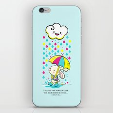 Rain Rabbit ezekiel 34:26 iPhone & iPod Skin