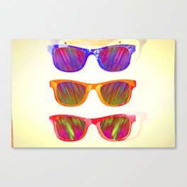 Sunglasses In Paradise Canvas Print