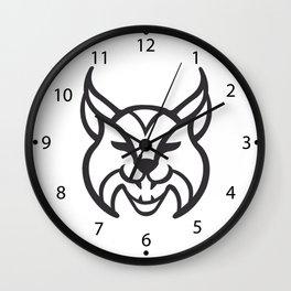 lynx Icon Wall Clock