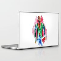 the dude Laptop & iPad Skins featuring Dude by Anastasiya  Tcapko