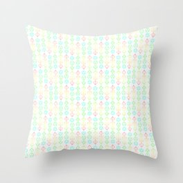 Dices Patterns Throw Pillow
