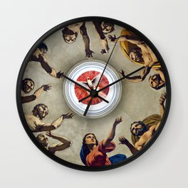 Cathedrale - NOTO - Town of Baroque - Sicily - Italy  Wall Clock