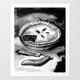 A Sweeney still life Art Print