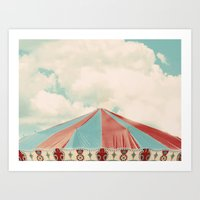 carnival Art Prints featuring Carnival by elle moss