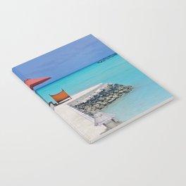 Maldives Beach Vibe Notebook