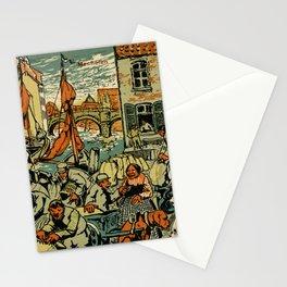 Mechelen Mosselkaai 1900 Stationery Cards
