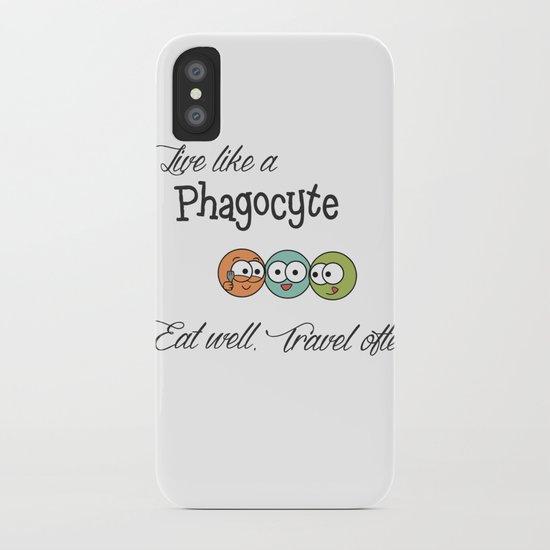 Like a Phagocyte iPhone Case