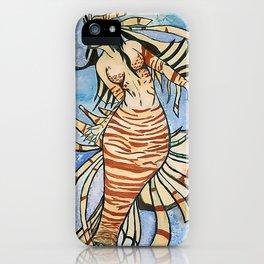 Lionfish Mermaid iPhone Case