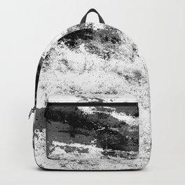 Perseverance Black & White Backpack