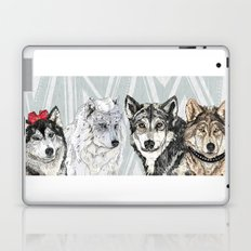 Wolf Family Portrait Laptop & iPad Skin