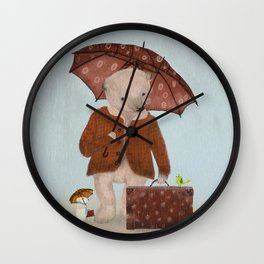 where to now big bear Wall Clock