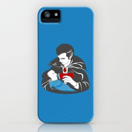 The Curious Case of a Baby Vampire iPhone Case