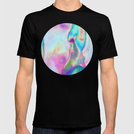 Iridescence - Rainbow Abstract T-shirt
