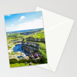 Blue Lagoon. Stationery Cards