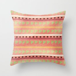 Cute Tribal Print Throw Pillow