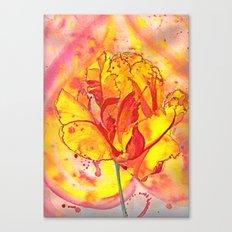 Beltane fire Canvas Print