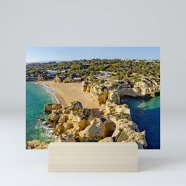 The Algarve coast Mini Art Print