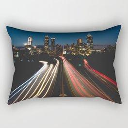 Downtown Atlanta City  Rectangular Pillow