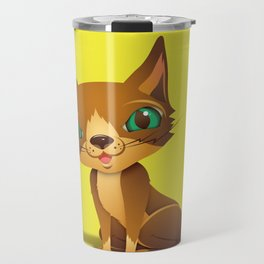 The Great Gold Meow Travel Mug