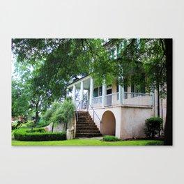 Stewart Parker House Back Canvas Print