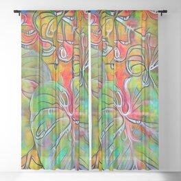 Nature Watching Sheer Curtain