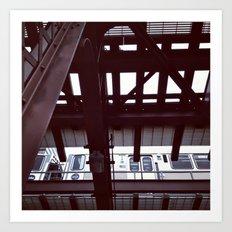 transit zone Art Print